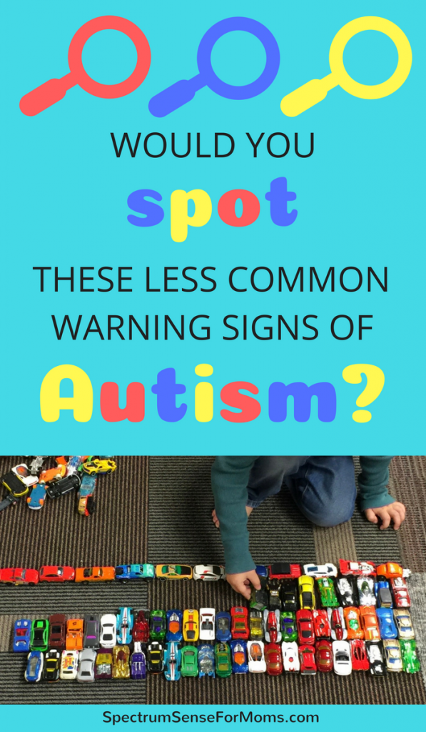 Wow. I completely missed these autism warning signs! My son seemed